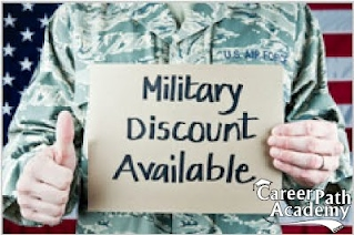 Real Estate Class discounts for Veterans and their Spouses