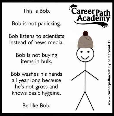 Be Like Bob Covid-19 meme